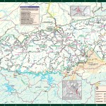 Great Smoky Mountains National Park Hiking Trails Map
