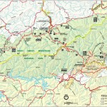 Smoky Mountains Area Map