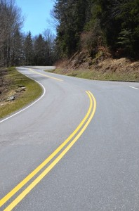 Clingmans Dome Road