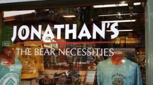 Jonathans Store Sign