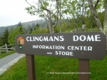 Clingmans Dome Information Center at Great Smoky Mountains National Park
