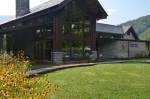Oconaluftee Visitor Center Outside
